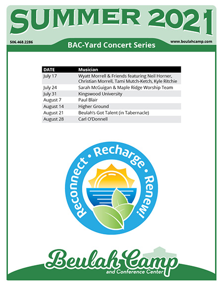 BAC-Yard Concert Series